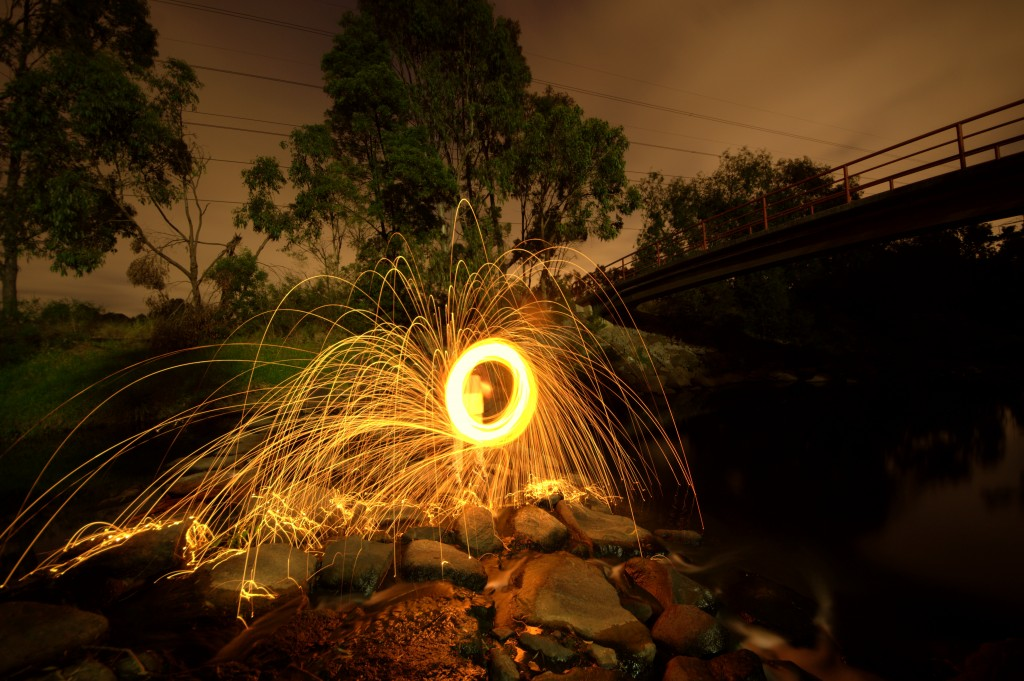 FIRE BALL EFFECT PHOTO